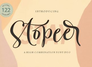 Stay Stopeer Duo Font