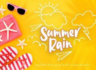 Summer Rain Font