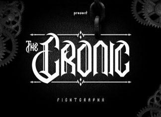 The Cronic Font