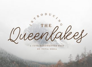 The Queenlakes Font