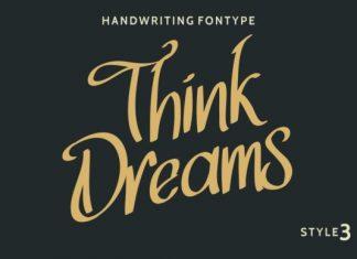 Think Dreams Font