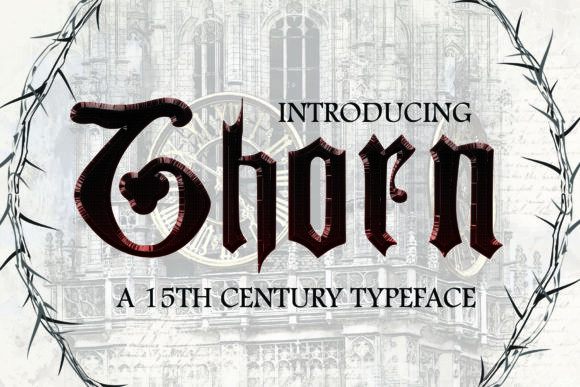 Thorn Font