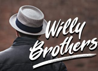 Willy Brothers Font