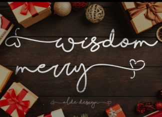 Wisdom Merry Font