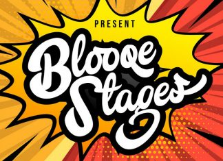 Blooqe Stages Font