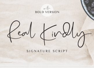 Real Kindly - Signature Script