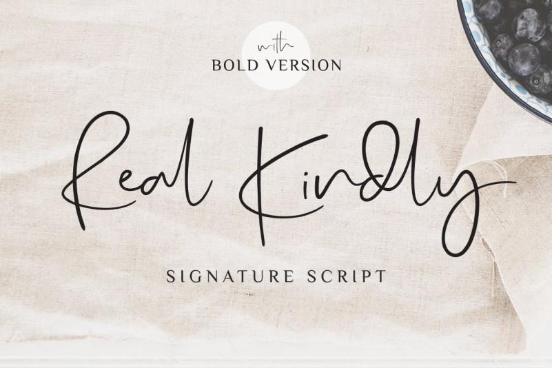 Real Kindly - Signature Script