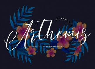 Arthemis Script - Logo Font