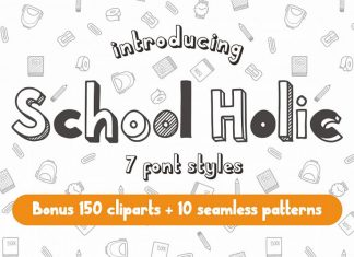 School Holic Family Other Font