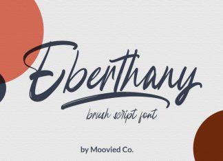 Eberthany Brush Script