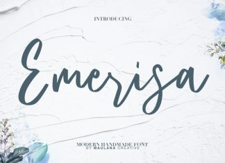 Emerisa Modern Brush Script