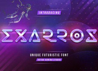 Exarros Font