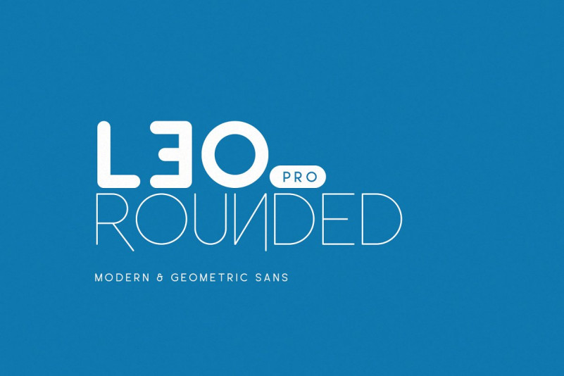 Leo Rounded Font