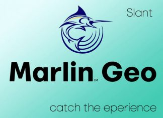 Marlin Geo Slant Font