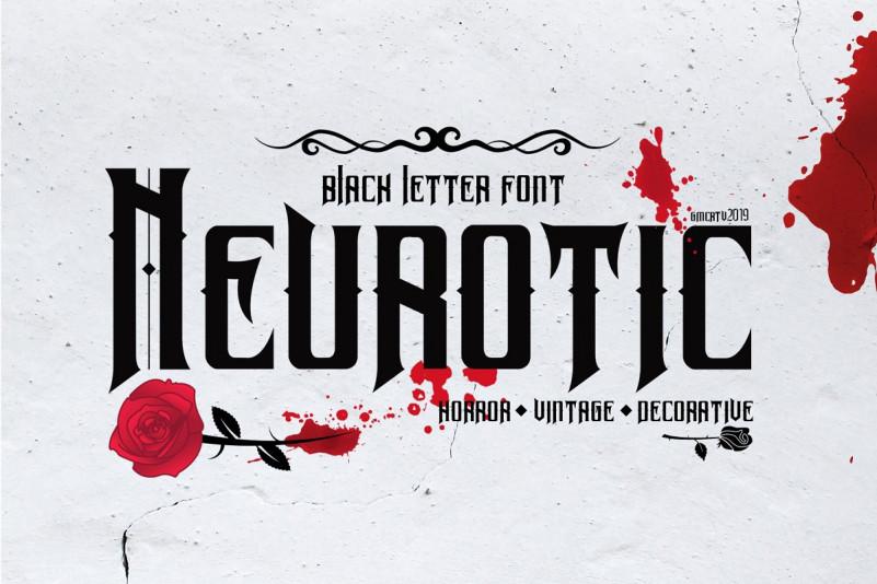 Neurotic Font