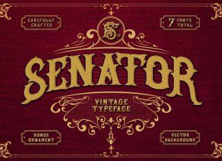 SENATOR FONT