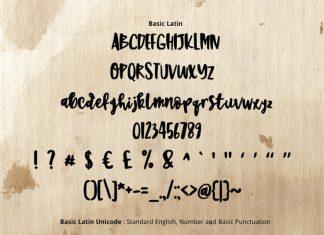 Sweet Brush Font