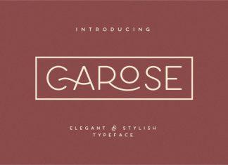 Carose Sans- 6 Elegant Typeface