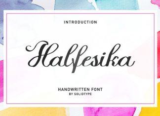 Halfesika Script