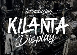 Kilanta Display Font