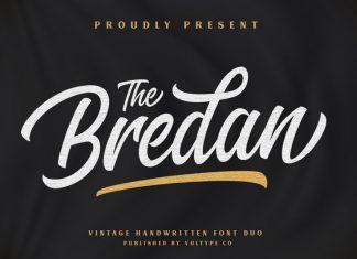 Bredan Script & Sans Duo Font