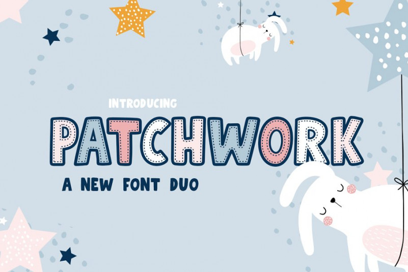 Patchwork Font Duo