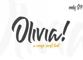 Olivia Rough Font