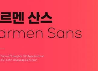 Carmen Sans Font Family
