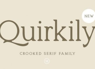 Quirkily Font Family