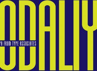 Aodaliya Font Family