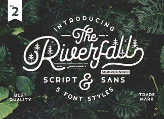Riverfall Semi Rounded Font