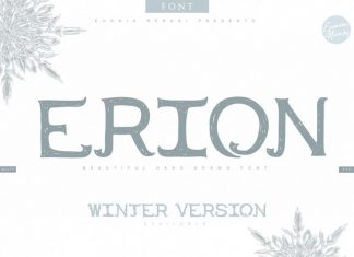 ERION FONT with Christ Font