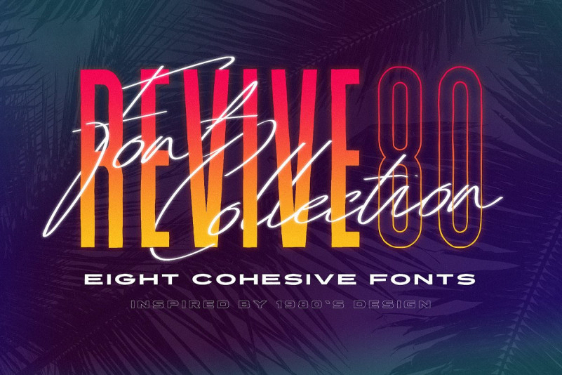 Revive 80 - Retro Font