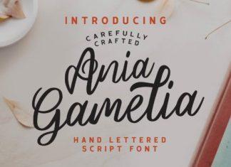 Ania Gamelia Font