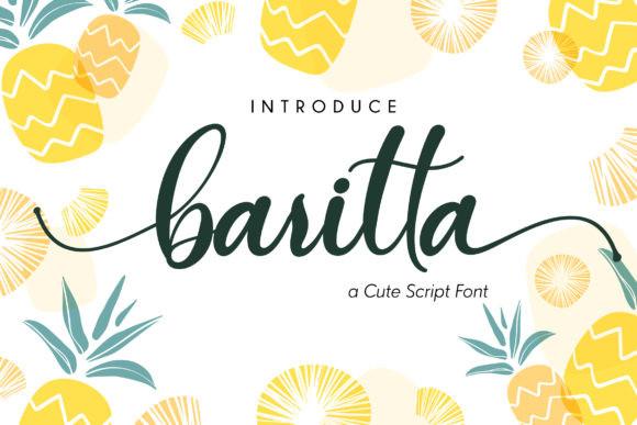Baritta Script