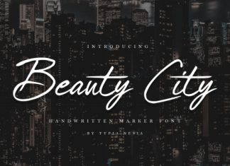 Beauty City Font