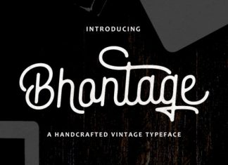 Bhontage Font
