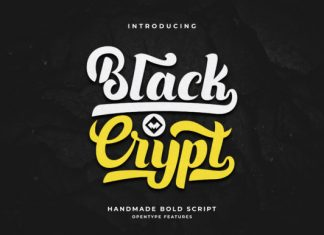 Blackcrypt Font