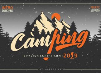 Camping Font