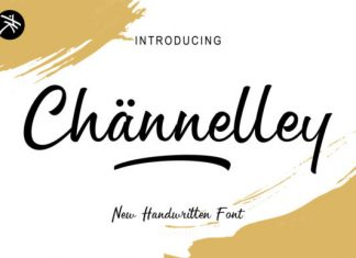 Channelley Font