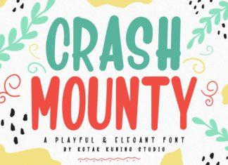 Crash Mounty Font
