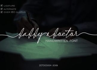 Daddy & Doctor Font