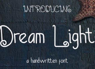 Dream Light Font