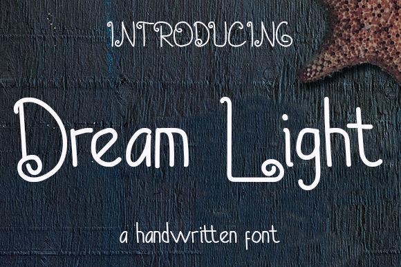 Dream Light Font