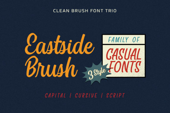East Side Brush Font