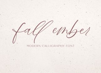 Fall Ember Font