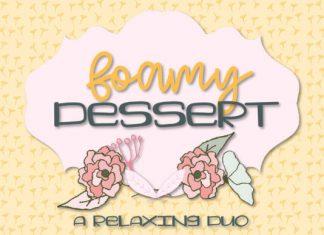Foamy Dessert Font