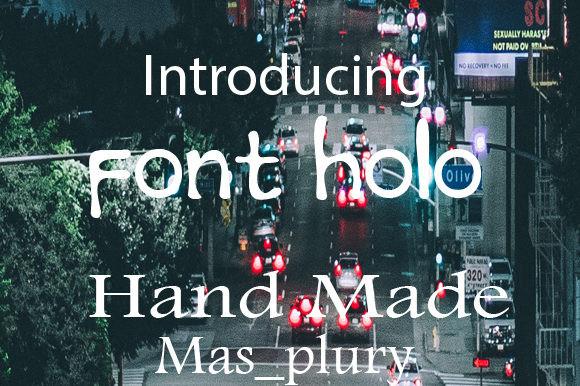Font Holo Font