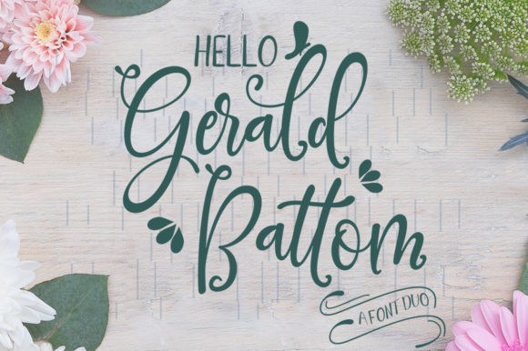 Gerald Battom Font