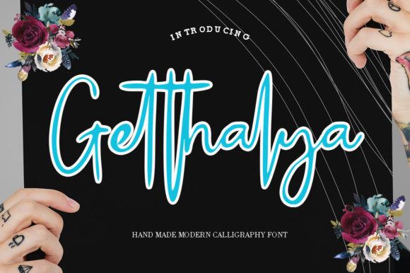 Getthalya Font